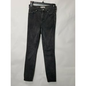 Madewell High rise Skinny distressed jeans Size 26